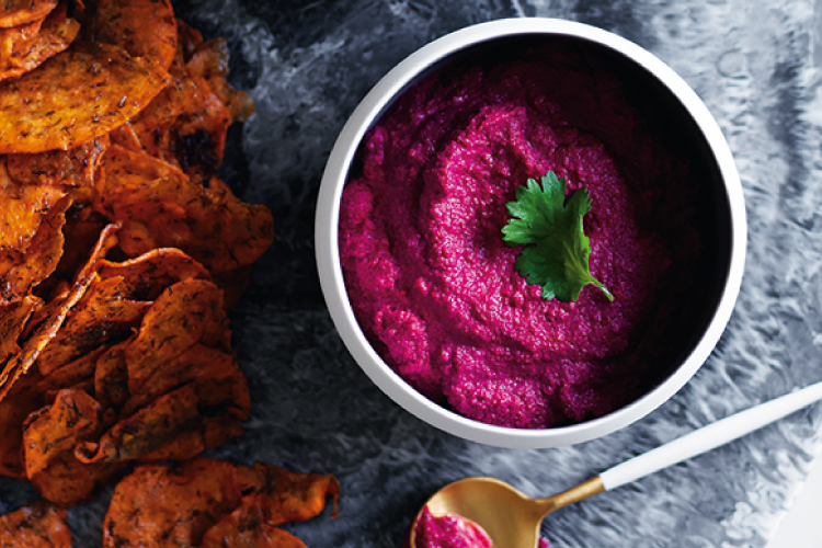 Raw Vegan Beetroot Dip