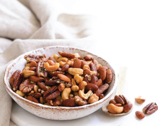 Savoury Spiced Nut Mix